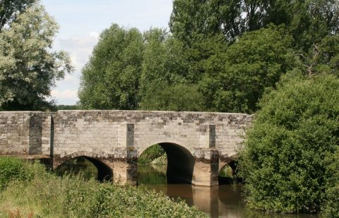 Image of Fittleworth stone bridge over the River Rother