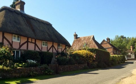 Image of timber framed cottages