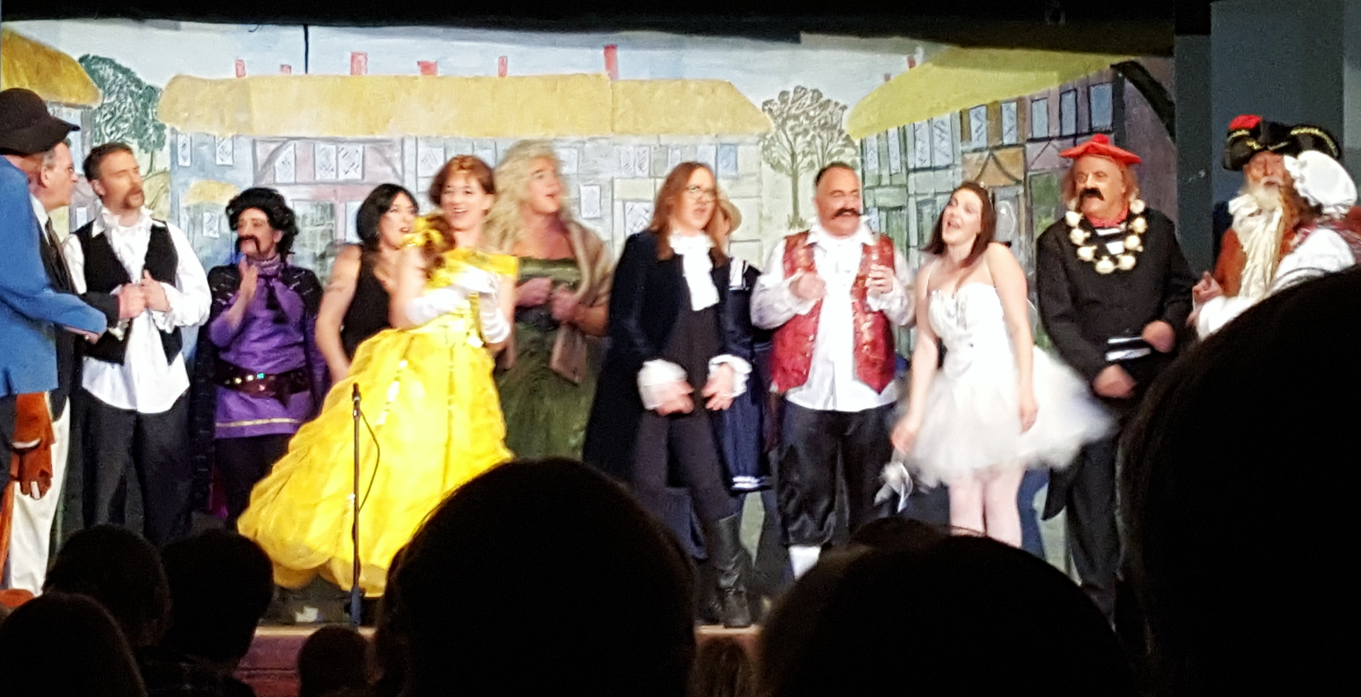 Well done everybody involved with the Fittleworth Pantomime!