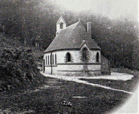 an old picture of Bedham Chapel School