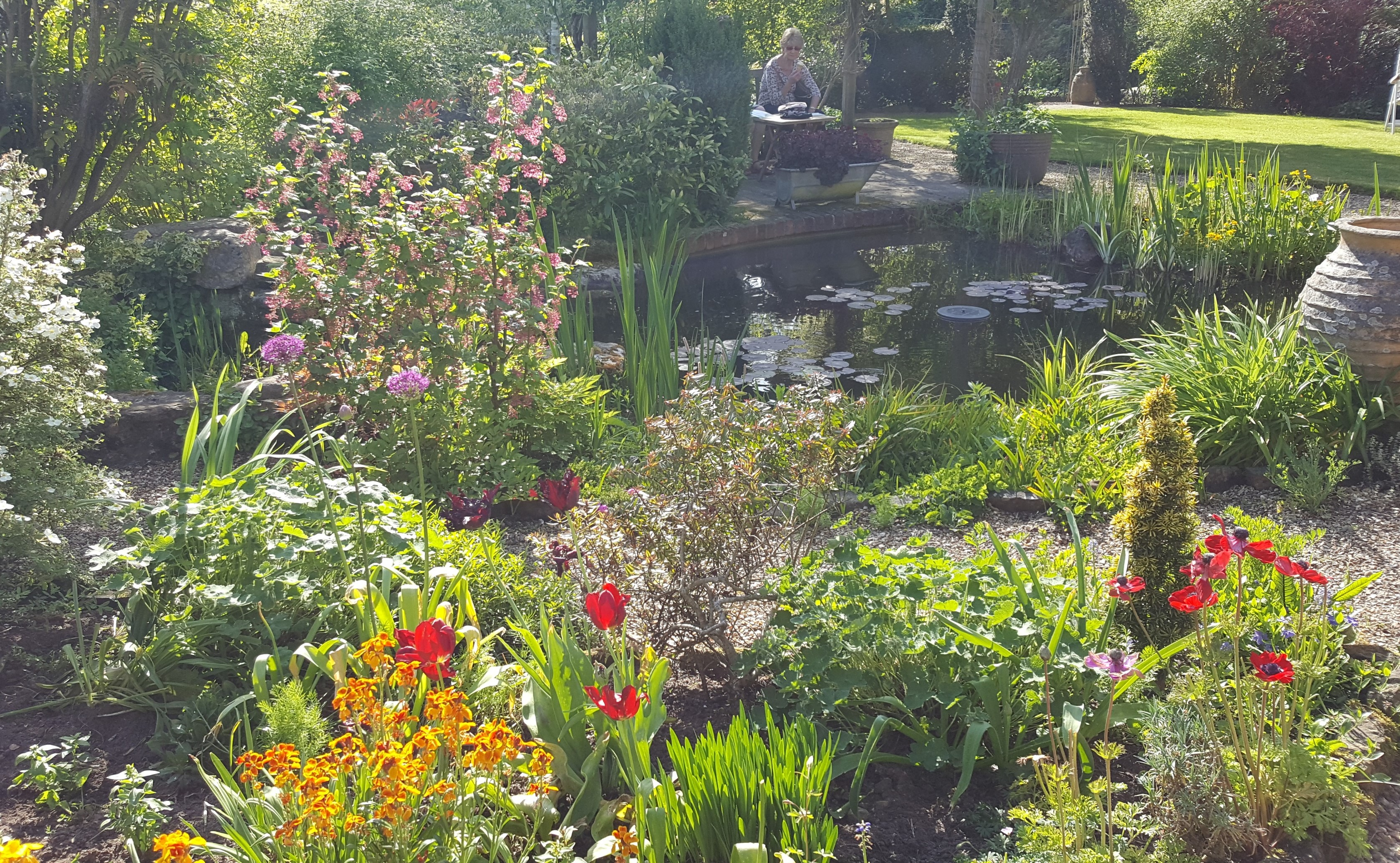 Thank you everyone who supported, helped or organised the beautiful Garden Trail and interesting (updates on the shop and Neighbourhood Plan) news at the Annual Parish Meeting
