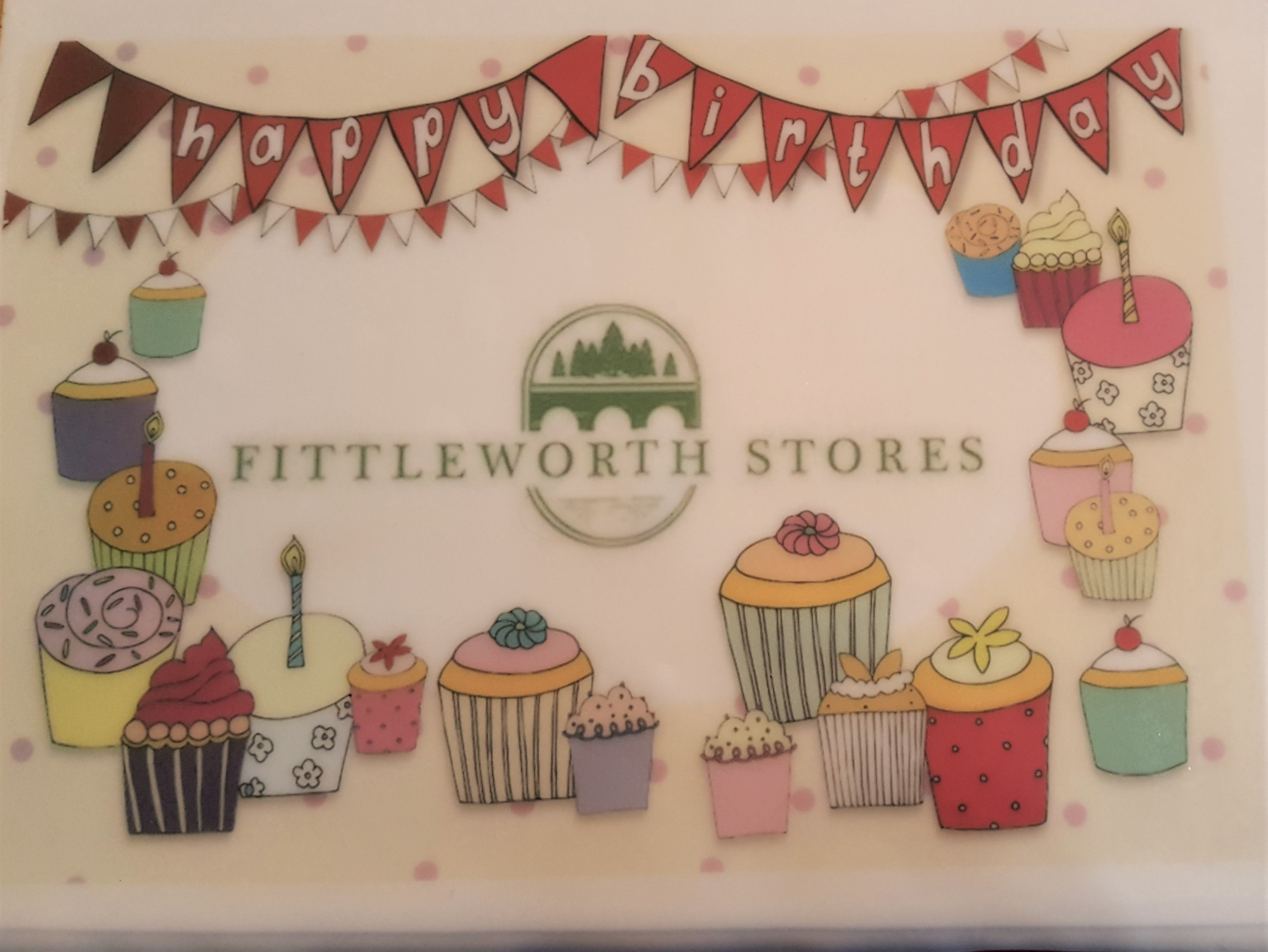 Fittleworth Stores 1st Birthday - the cake!