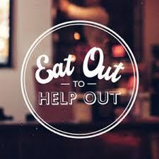 The Help Out to Eat Out poster