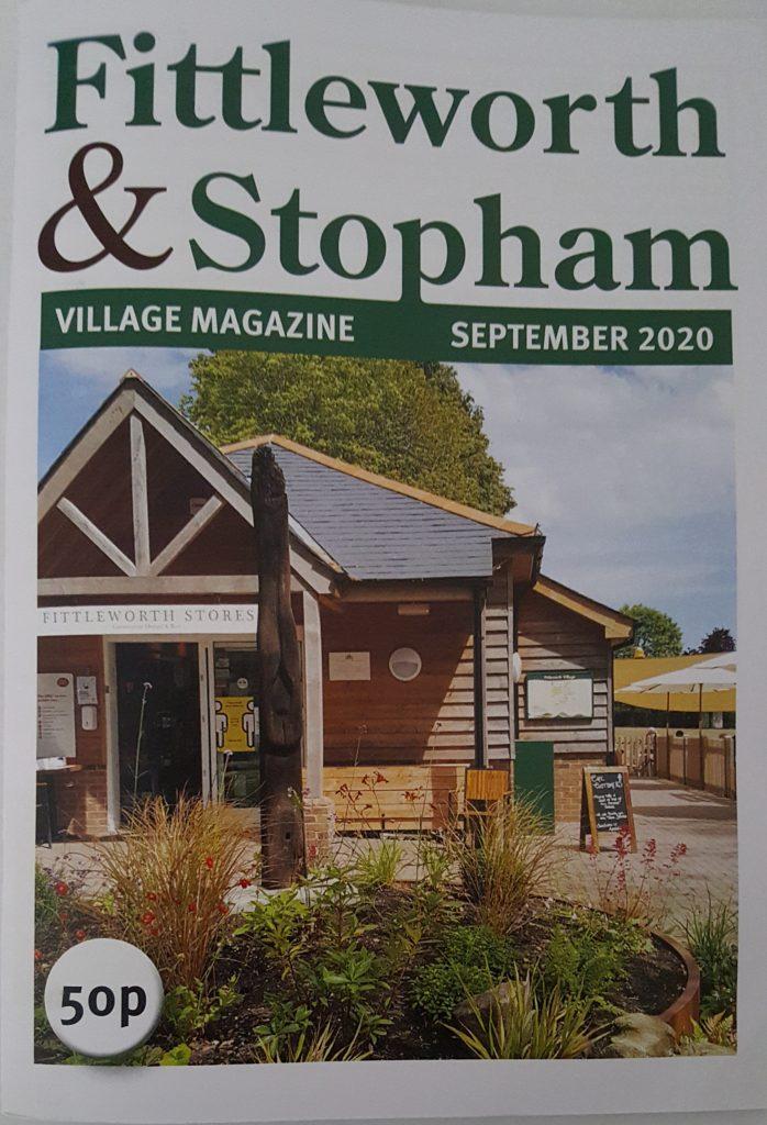 Fittleworthand Stopham Magazine cover for September