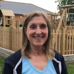 A photo of Jane Claxton asthe new Chair of Fittleworth PC