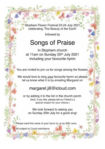 Poster about Stopham Songs of Praise
